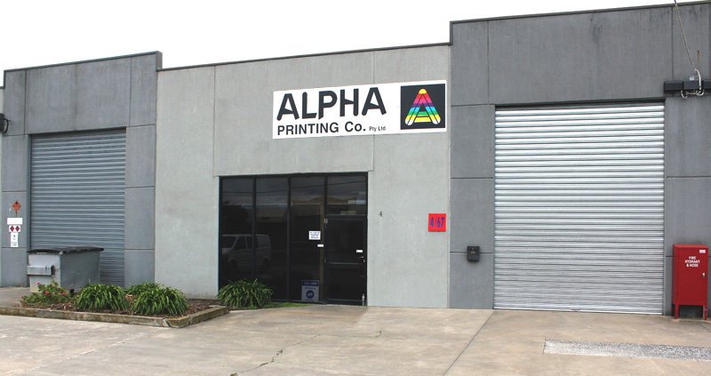 alpha printing and packaging factory braeside vic